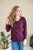 Date Night Top | Deep Plum - MOB Fashion Boutique