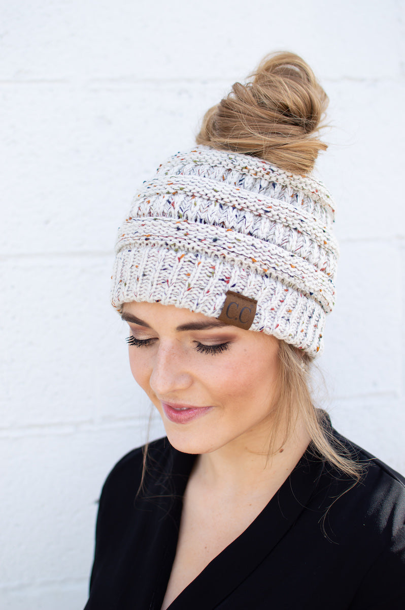 C.C. Bun Beanie - MOB Fashion Boutique