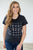 Friends Logo Repeat Tee Faded Black - MOB Fashion Boutique