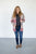 Color Block Popcorn Cardi | Mauve - MOB Fashion Boutique