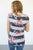 Be Bold Floral and Stripe Tee - MOB Fashion Boutique