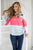 Wish You Were Here Color Block Top - MOB Fashion Boutique
