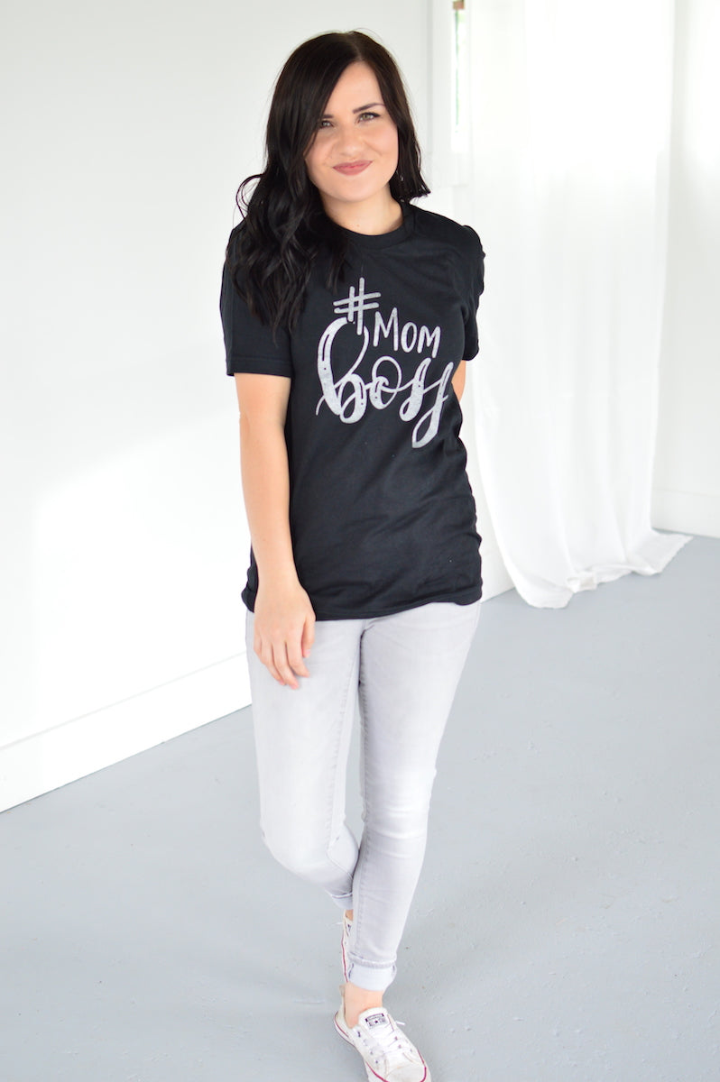 #MOMBOSS Tee - MOB Fashion Boutique