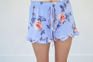 Floral Ruffle Shorts - MOB Fashion Boutique