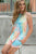 Rocker Tank | Seaside Tie Dye - MOB Fashion Boutique