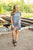 Fall Tie Dye T-Shirt Dress - MOB Fashion Boutique