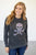Skull French Terry Raglan - MOB Fashion Boutique