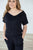 Black V-neck Jumper - MOB Fashion Boutique