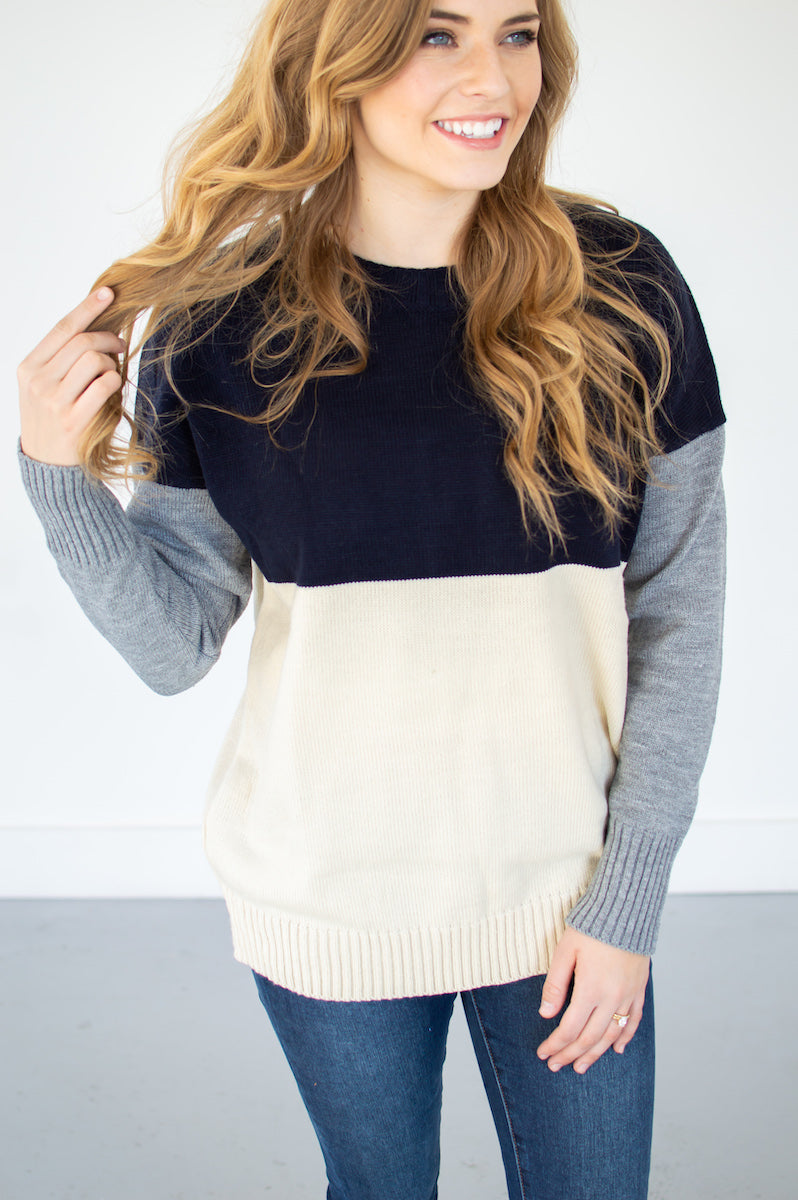 Trinity Sweater - MOB Fashion Boutique