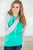 Mint for You Raglan Hoodie - MOB Fashion Boutique