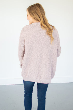 Popcorn Cardi | Blush - MOB Fashion Boutique