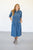 Denim Midi Dress - MOB Fashion Boutique