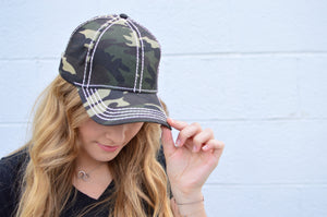 C.C. Camo Cap - MOB Fashion Boutique