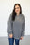 Off Collar Quarter Zip Sweater - MOB Fashion Boutique