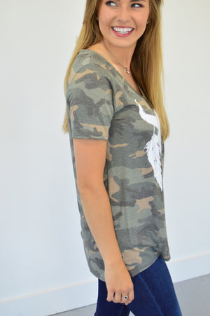 Ox Skull Camo - MOB Fashion Boutique