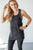 Mineral Washed Athletic Tank | Black - MOB Fashion Boutique