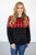 Buffalo Plaid Crew Neck Pullover | Nursing option available! - MOB Fashion Boutique