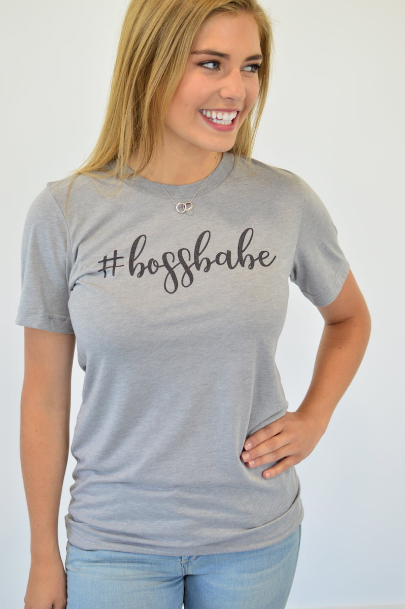 #bossbabe Tee - MOB Fashion Boutique