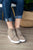 Zoey Wedge Sneaker | Taupe - MOB Fashion Boutique