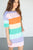 Rainbow Stripe Tunic - MOB Fashion Boutique