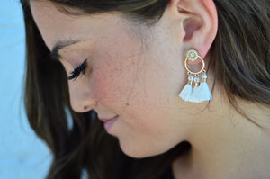Trinity Tassel Earrings - MOB Fashion Boutique