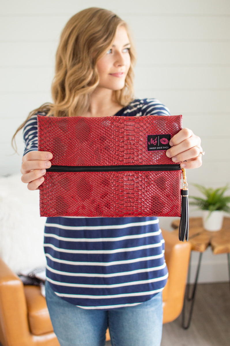 Medium Make Up Junkie Bags | Multiple Colors - MOB Fashion Boutique