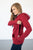 Cranberry Plaid Hoodie with Nursing Option! - MOB Fashion Boutique