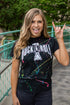 Rock and Roll Paint Splatter Tee