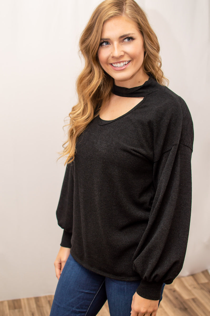 For Your Hunny Bubble Sleeve Top - MOB Fashion Boutique