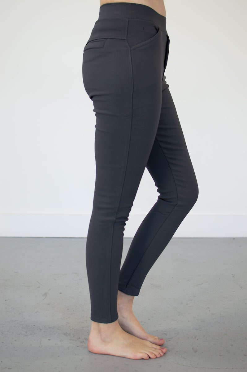 Fleece Lined Stretch Pants | 4 Colors! - MOB Fashion Boutique