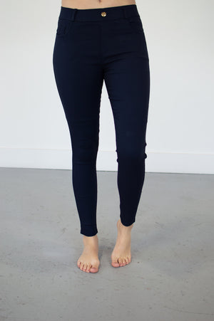 *DOOR BUSTER* Ultra Stretch Jegging Pants | 5 Colors - MOB Fashion Boutique