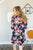 Lounge Dress | Navy Floral - MOB Fashion Boutique