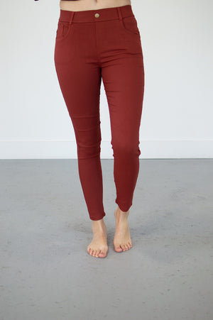Ultra Stretch Jegging Pants | 5 Colors - MOB Fashion Boutique