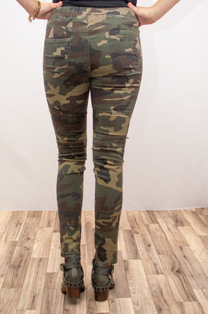 R.J. Moto Joggers | Camo - MOB Fashion Boutique