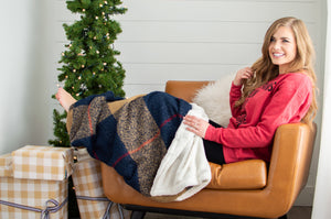 Cozy Sherpa Throw Blanket - MOB Fashion Boutique