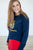 Never Silence Your Roar Sweatshirt | Navy - MOB Fashion Boutique