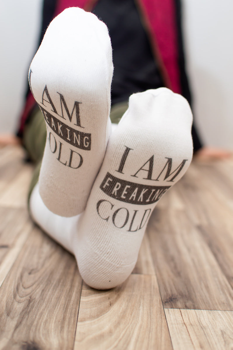 I am FREAKING Cold Socks - MOB Fashion Boutique