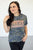 Rose Gold Camo Phrase Tee | 2 Options! - MOB Fashion Boutique