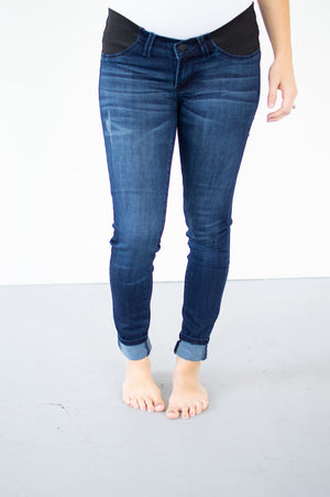 Maternity Denim | Dark Wash - MOB Fashion Boutique