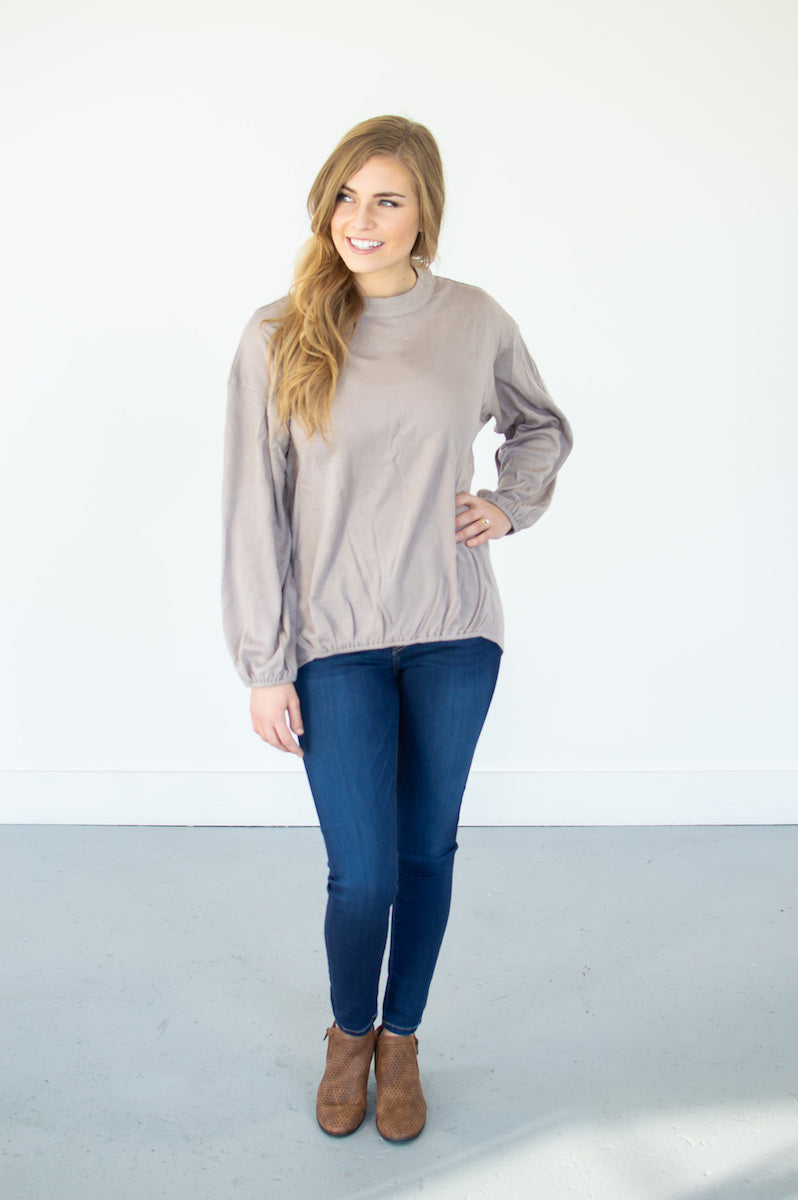Angora Button Down Top | Blush - MOB Fashion Boutique