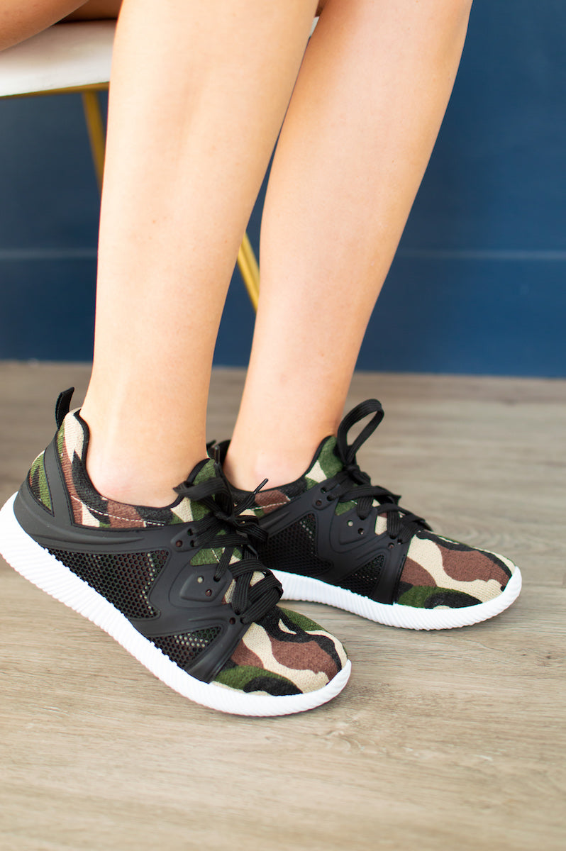 Camo Sneakers - MOB Fashion Boutique