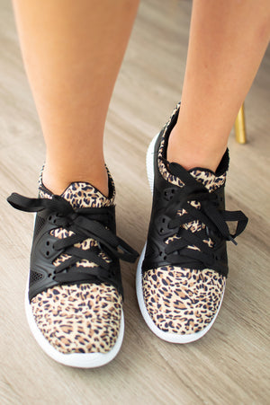 Leopard Sneakers - MOB Fashion Boutique