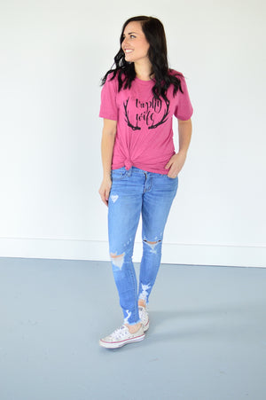 Trophy Wife Tee - MOB Fashion Boutique