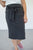 Charcoal Bow Pencil Skirt - MOB Fashion Boutique