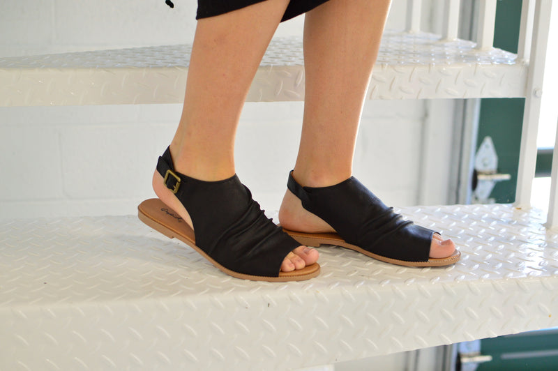 Dezi Sling Backs | Black - MOB Fashion Boutique