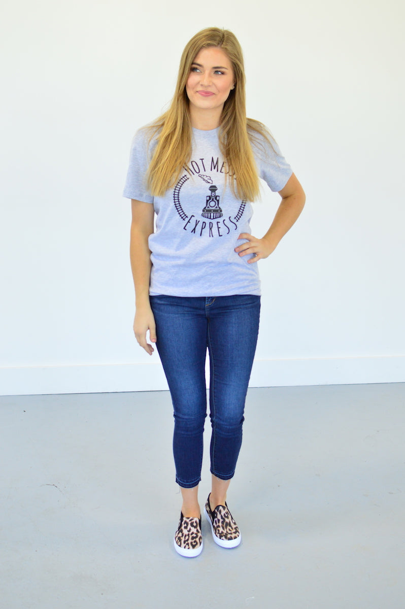 Hot Mess Express Tee - MOB Fashion Boutique
