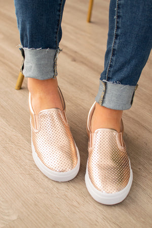 Live Easy Sneaks | Rose Gold - MOB Fashion Boutique