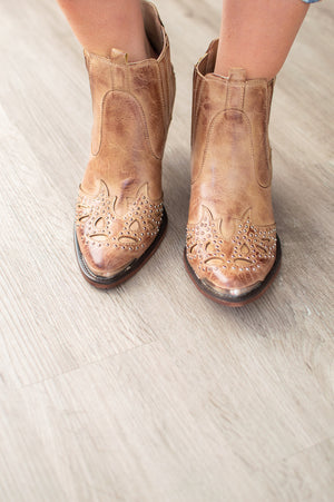 Western Booties | Taupe - MOB Fashion Boutique