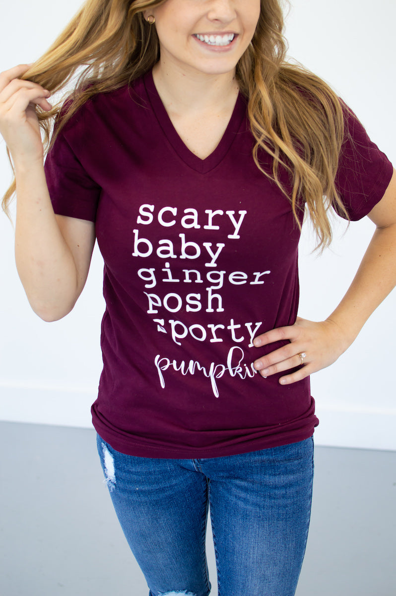 Pumpkin Spice World Tee - MOB Fashion Boutique