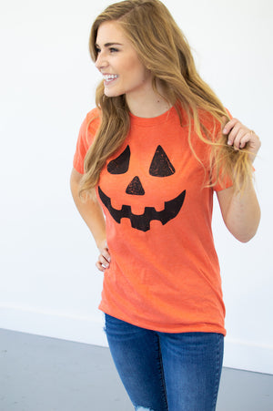 Jack-O-Lantern Tee - MOB Fashion Boutique
